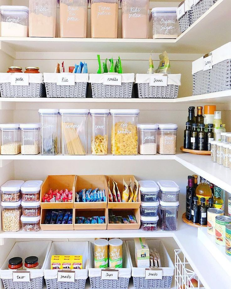 """5,373 Likes, 79 Comments - Real Simple (@real_simple) on Instagram: """"There's nothing quite as satisfying as an organized pantry! Thanks for the beautiful inspiration,…"""""""