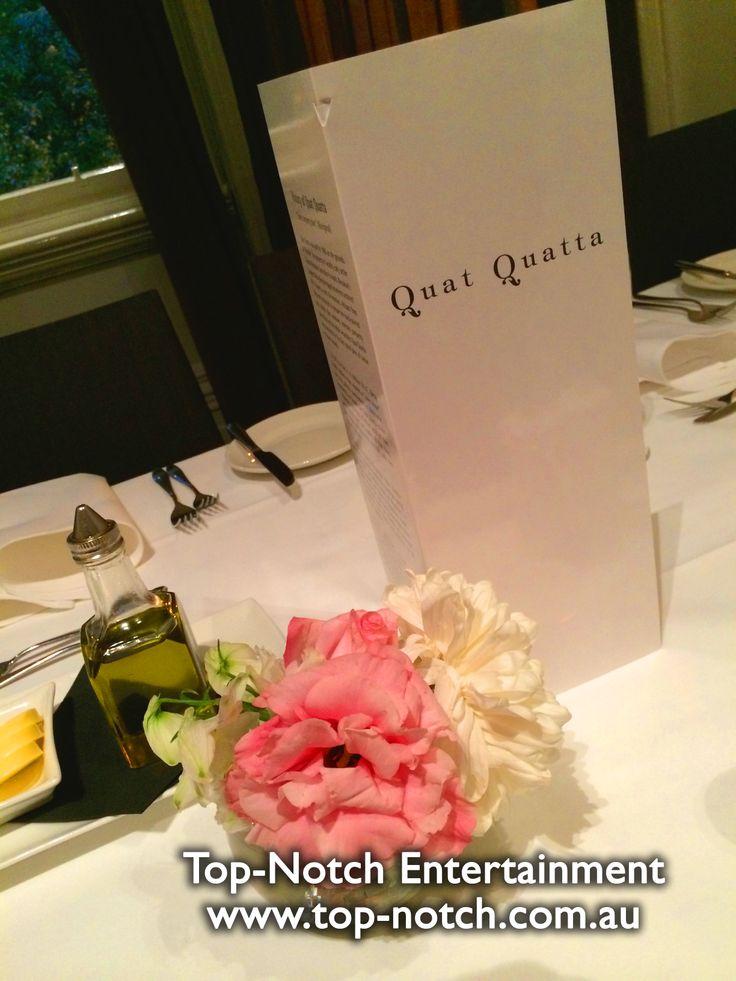Wedding flower arrangements/floral arrangement.  www.top-notch.com.au  www.facebook.com/WeddingDJTopNotch