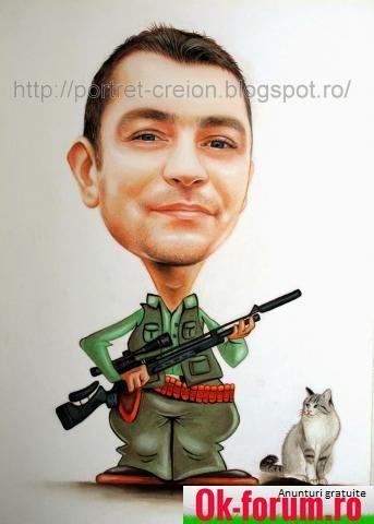 Portrete si caricaturi desenate in creion | ok-forum.ro - Anunturi gratuite de mica publicitate in Romania | Bucuresti - Sectorul 5 | Bucuresti | Romania | Cadouri