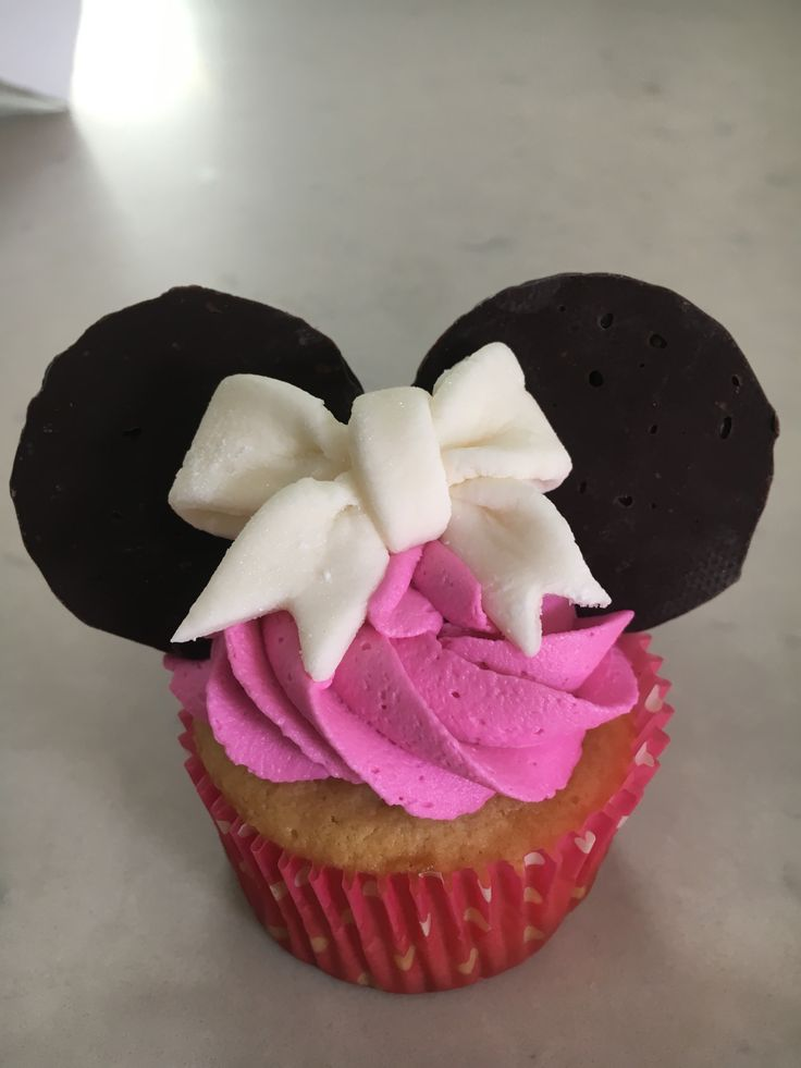 Best 25 Mini Mouse Cupcakes Ideas On Pinterest Minie