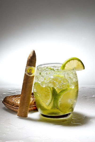 bollinger cigar and caipirinha/styling for GQ magazine