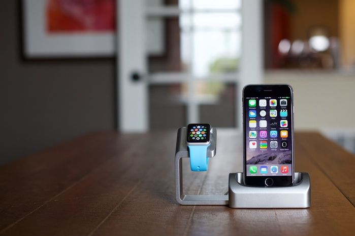 Duet is an elegant charging solution, precision machined from aluminum. Bringing your Apple Watch and iPhone together in perfect harmony, charging's a breeze. (Watch Arm and iPhone Dock can be separated to use each dock separately or together). http://antsylabs.com  #applewatch #iphone #applewatchdock #iphonedock #dock #duet #duetdock