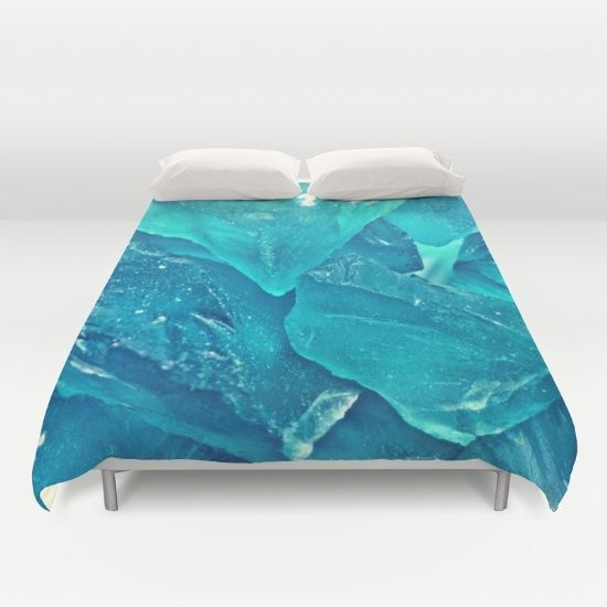 Into the Blue Duvet Cover