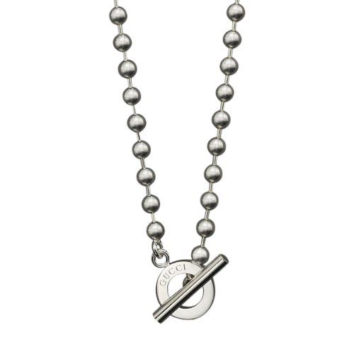 awesome Gucci Women's Necklace Boule 43cm Sterling Silver YBB135816001