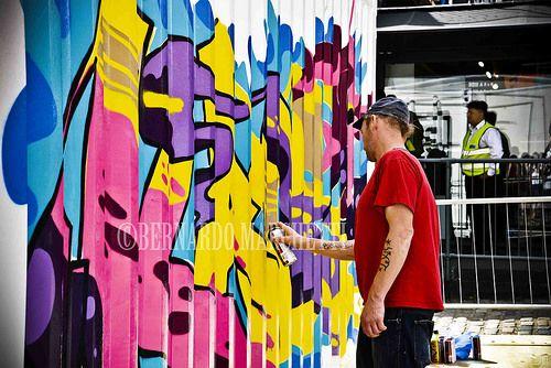 londra mon amour CXVII - spraying art
