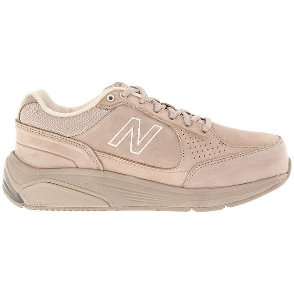 New Balance WW928 Women's Walking Shoes ($125) ❤ liked on Polyvore featuring shoes, athletic shoes, sneakers, tan, tan shoes, shock absorbing shoes, new balance athletic shoes, rubber caps and wide athletic shoes