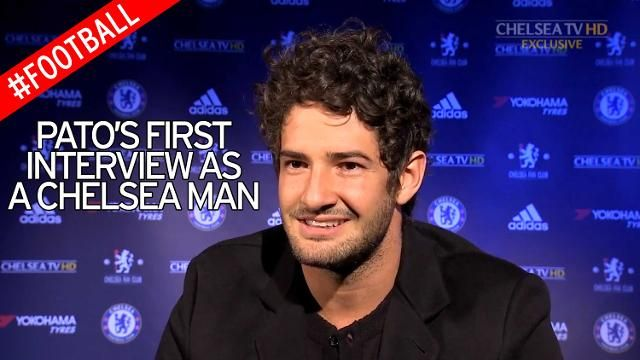 #Pato #Brasil Alexandre Pato says it is a dream come true to sign for Chelsea