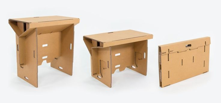 Maded from cardboard this could be the best desk , but what about a drink ? Better not drink over it , it could be deskiller water or any liquid . And for what price ? 250 $ create and sold by Refo...