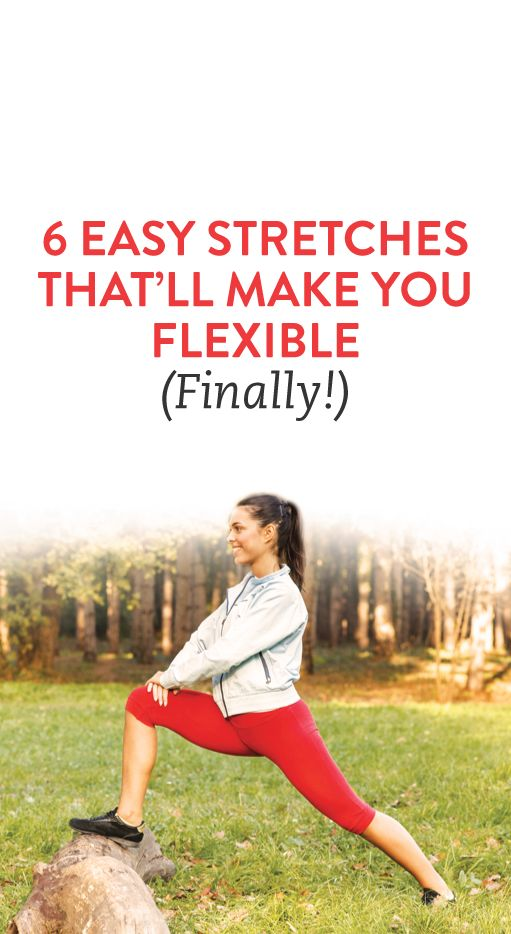 6 Easy Stretches thats'll Make You Flexible ( Finally! )