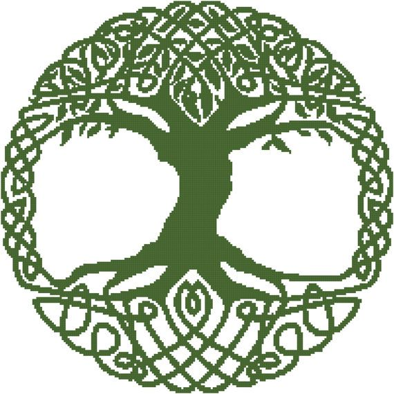Celtic Family Tree Crochet Graph PatternChart by Marysgraphs, $3.00