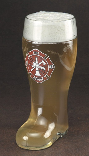 Maltese Cross Firefighter Boot Mug-This is kind of cool!