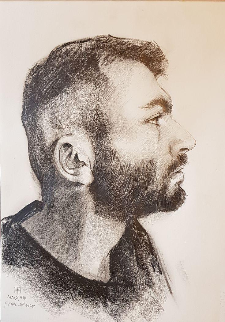 Profilo a matita | Altamiradecor, bottega d'arte di Franco Pagliarulo