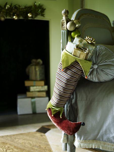 une chaussette de lutin