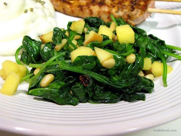 Espinaca a La Catalan (Catalan-Style Spinach) | Recipe