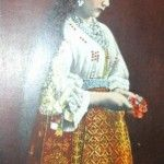 Romanian traditional costume 1910-1920