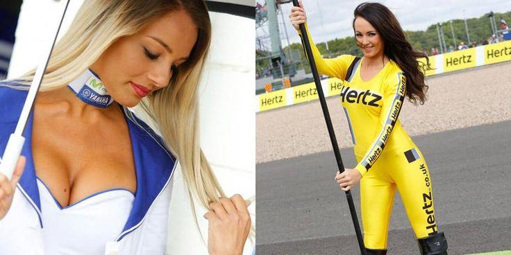 Gadis Manis dan Seksi di MotoGP Inggris 2014 - Kompas.com Otomotif