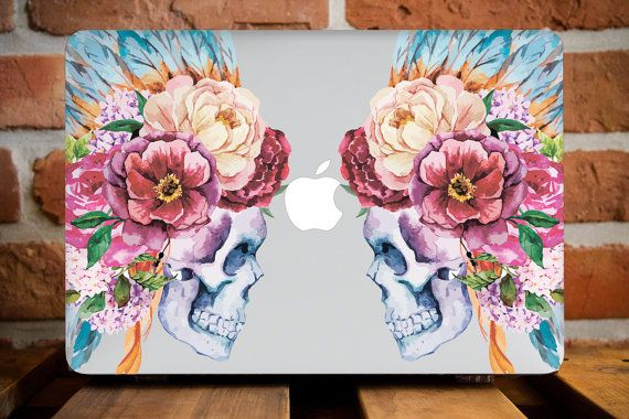 Indian Skull MacBook Pro Retina 13 Cover by CreativeMacBookCases