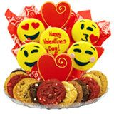 "B454 - Sweet Emoji ""Valentine's Day"" BouTray™"