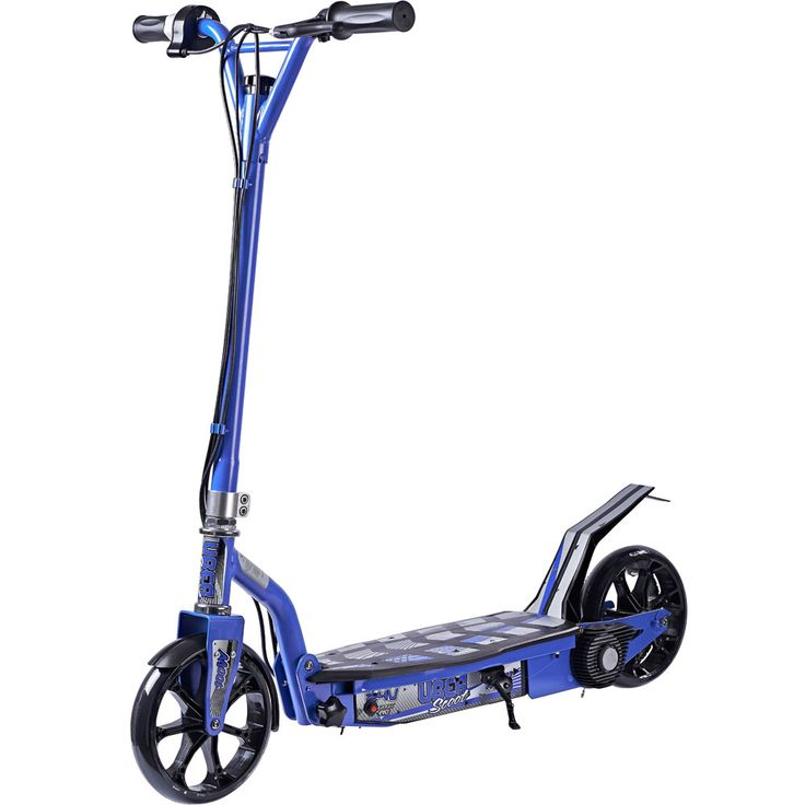 Uberscoot 100w Electric Scooter Blue By Evo Powerboards