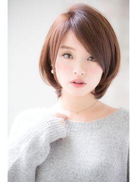【joemi】モード×ミルクティーカラー×トップノット(小倉太郎) - 24時間いつでもWEB予約OK!ヘアスタイル10万点以上掲載!お気に入りの髪型、人気のヘアスタイルを探すならKirei Style[キレイスタイル]で。