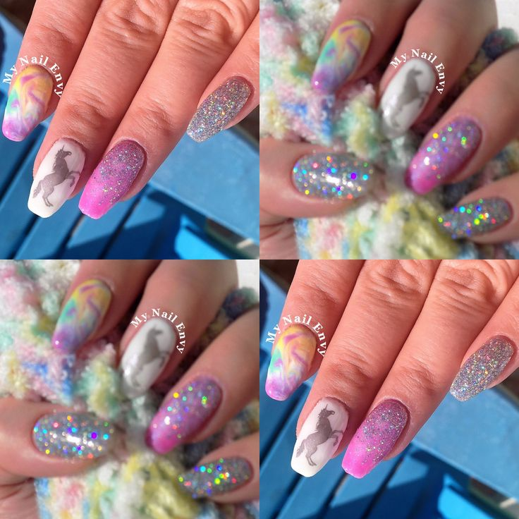 Nails art for summer