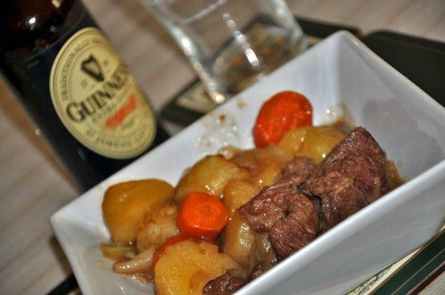 Guinness Stew o Estofado de Guinness con Ternera: Especial Recetas de San Patricio - Cocinillas.es