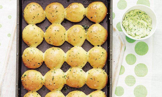 Mary Berry Everyday, part two: Dough balls with garlic herb butter