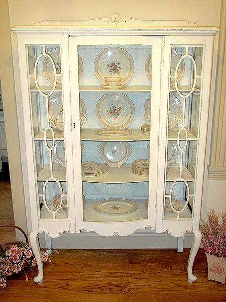 Gorgeous Antique China Cabinet