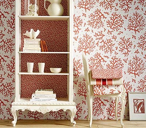 Die Farbe Koralle Interieur Teil 1. die besten 25+ rot farbe ideen ...