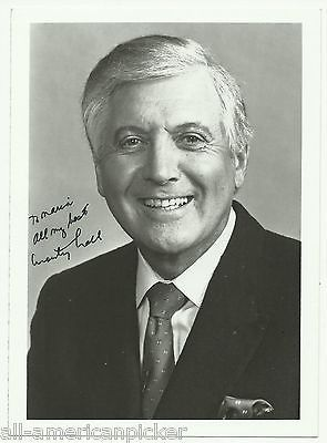 MONTY HALL LET'S MAKE A DEAL HOST ACTOR VINTAGE AUTOGRAPH SIGNED PHOTO PRINT