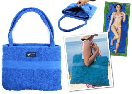 Katlanabilir Çanta Plaj Havlusu (8 Model) 12,90 TL