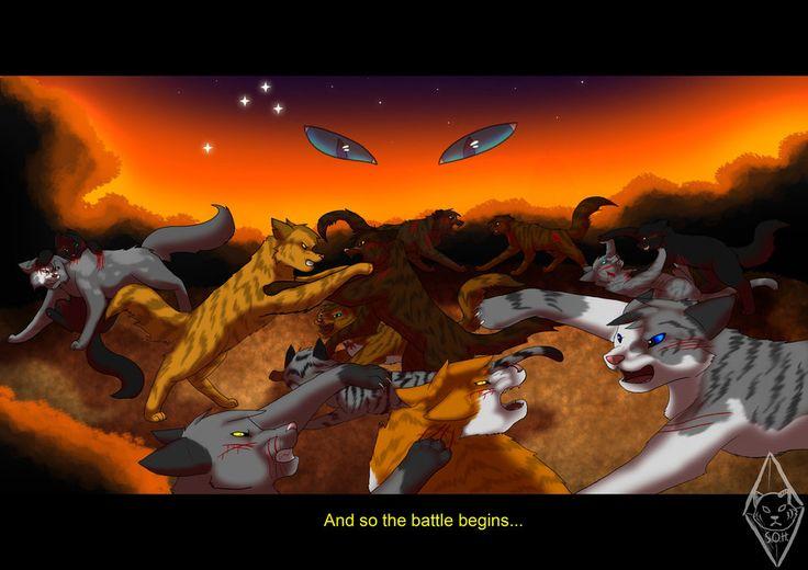 Коты воители первая битва картинки