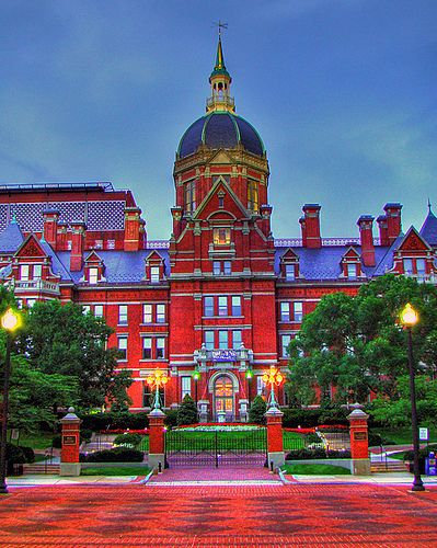 "Johns Hopkins (""Jonhokkins"") Hospital - Baltimore, Maryland DSC06185-9, via Flickr."