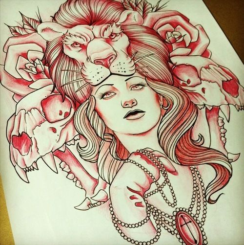 Fantastic tattoo design. #tattoo #tattoos #ink