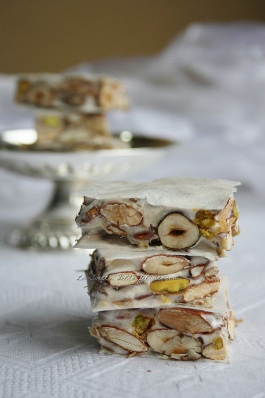 Torrone..I love this and could not wait every Easter and Christmas for my Mother to buy them. They were hard to find.