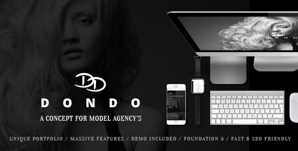 DONDO v1.7.4 – Model & Agency Portfolio Nulled WordPress Theme