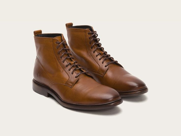 Copper - Patrick Lace Up · Leather ...