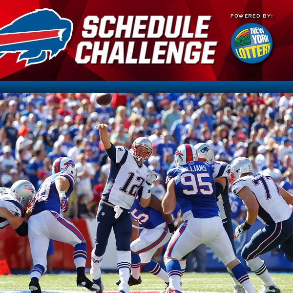 42% of entries have the #Bills playing an AFC East opponent at home in Week 1.  Guess the 2014 schedule correctly and you could win season tickets FOR LIFE!