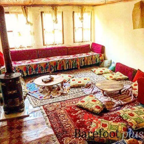 Inside A Traditional Turkish Village House