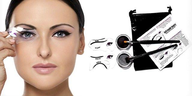 Scopri gli eye-liner stencil per applicare in modo perfetto ed uniforme l'eye-liner creando cat-eye e linee super marcate e precise!