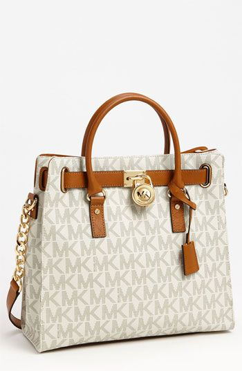 MICHAEL Michael Kors 'Signature Hamilton - Large' Tote available at #Nordstrom