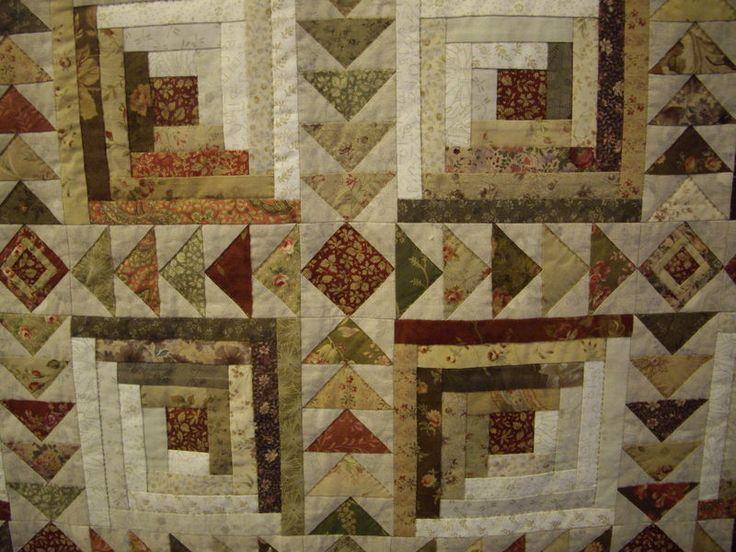 820 Best Quilts Log Cabin Variations Images On Pinterest