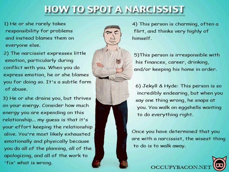 Its not only men that are Narcissists.   Women can have this condition too so this goes for both men and woman.  I think it's important to teach our sons and daughters about these personality traits so hopefully they can spot them. I know they seem so charming so it's not all that easy spot them but they do show their colors through the charm you just need to know what to look for.  Healing Through Self Love: Narcissistic Curtain Calls....