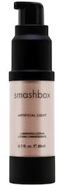 I use Smashbox Artificial Light on my cheeks. After applyin my blush, i squirt one pump into my hand, use my inex finer to dab it lightly over my blush. I iridescent look it creates is amazing! I always get complements on my cheeks.