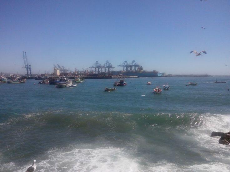 Puerto de San Antonio. Chile.