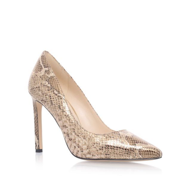 Nine West Tatiana high heel court shoes, Court Shoes, High (3in and above), Stiletto heel, Pointed toe, Upper - Leather, Lining - Synthetic, Sole - Synthetic, Clean with soft dry cloth.