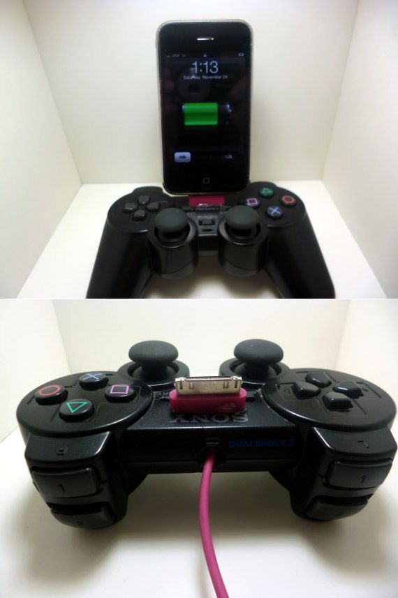 Sony Playstation 2 Controller iPhone Dock