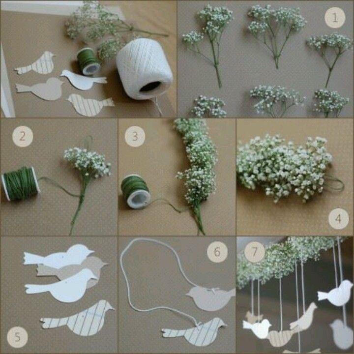 Easy wedding decoration, gör det själv, diy, bröllop, wedding, inspiration, ideas,