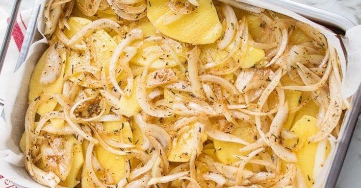 Un accompagnement de pommes de terre simple et succulent