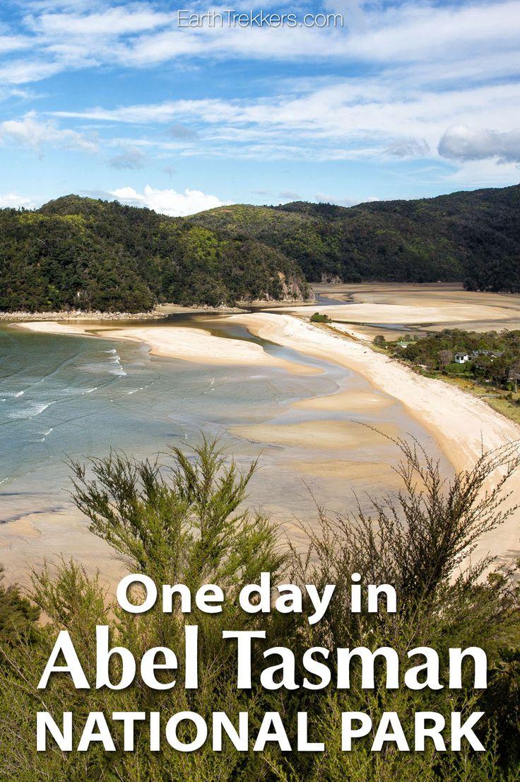Abel Tasman, New Zealand: One day hiking and cruising itinerary